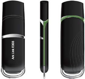 Модем ARK DS E303 3G, внешний, черный [ark link e303]