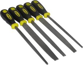06A250, Напильники по металлу 200/2 мм, набор 5шт.