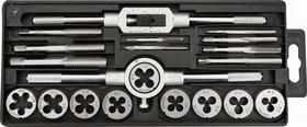 14A425, Плашки и метчики M3-M12 (20шт), вольфрамовая сталь