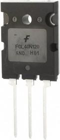 Фото 1/2 FGL40N120ANDTU, Транзистор IGBT 1200В 64А 500Вт + диод [TO-264]