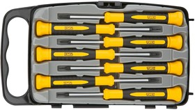 39D558, Набор отвертки прецизионные, магнитные, CrV, 7 шт.
