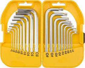 Фото 1/2 35D952, Ключи шестигранные и Torx, набор 18 шт