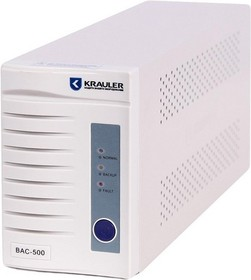 Фото 1/2 BASIC BAC-500, Источник бесперебойного питания (ИБП/UPS), 500ВА/300Вт, IEC, line-interactive, белый