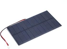 1.5W Solar Panel 81X137, Солнечная панель 5.5В 270мА