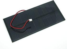 Фото 1/3 2W Solar Panel 80X180, Солнечная панель 5.5В 360мА