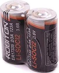 ER17335 2/3A SR2 (11615), Элемент питания литиевый 1800мАч (LSC1800-2/3A-3.6V)(1шт)