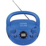 Аудиомагнитола Hyundai H-PCD220 синий 2Вт/CD/CDRW/ ...
