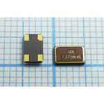 Фото 2/2 кварцевый резонатор 7.3728МГц, 4-х контактые SMD 5x3.2мм, 7372,8 \SMD05032C4\ 8\ 10\ 30/-40~85C\SMD0503(4P)\