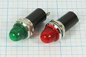Держатель ламп с цоколем S9 с зеленым светофильтром 5712 G держатель патрон ламп\S 9\пл\зел\2C\LH-006GNX\