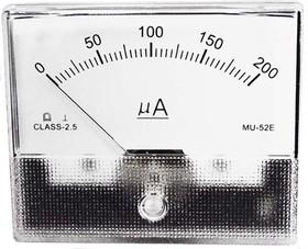 Измерительная головка 200мкА, 80x65мм 6344 гол А 80x65\ 200мкА\MU52E\2,5\