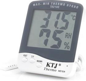 TA218(А)(SH-130), Часы-будильник с термометром и гигрометром
