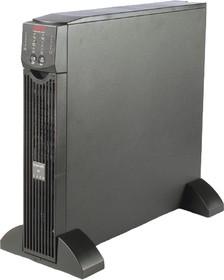 Фото 1/5 SURT1000XLI, Источник бесперебойного питания APC Smart-UPS RT, On-Line, 1000VA / 700W, Rack/Tower, IEC, Serial, S
