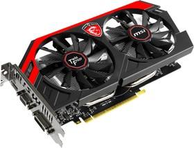 Видеокарта MSI GeForce GTX 750Ti Twin Frozr, N750TI TF 2GD5/OC, 2Гб, GDDR5, OC, Ret