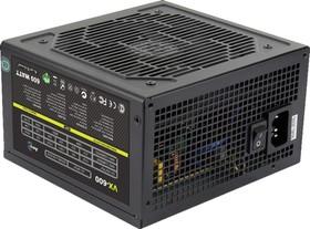 Блок питания AEROCOOL VX-600, 600Вт, 120мм, черный, retail