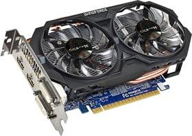 Видеокарта GIGABYTE GeForce GTX 750Ti, GV-N75TOC-2GI, 2Гб, GDDR5, OC, Ret