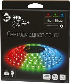 Фото 1/2 LS5050-60LED-IP65-RGB, Лента светодиодная (RGB), 14.4Вт/м, цена за катушку 5м