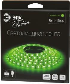 Фото 1/2 LS5050-60LED-IP20-G, Лента светодиодная (цвет зеленый), 14.4Вт/м, цена за катушку 5м