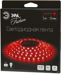 Фото 1/2 LS5050-60LED-IP20-R, Лента светодиодная (цвет красный), 14.4Вт/м, цена за катушку 5м