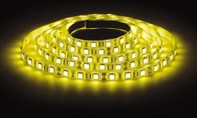 LS5050-60LED-IP65-Y, Лента светодиодная (цвет желтый), 14.4Вт/м, цена за катушку 5м