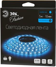 Фото 1/2 LS5050-60LED-IP65-B, Лента светодиодная (цвет синий), 14.4Вт/м, цена за катушку 5м