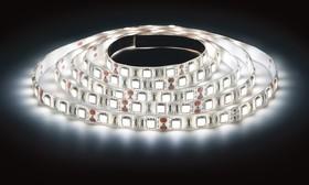 LS3528-60LED-IP65-W, Лента светодиодная (цвет белый), 4.8Вт/м, цена за катушку 5м