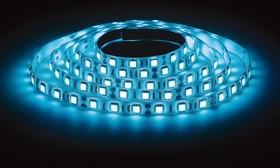 LS3528-60LED-IP20-B, Лента светодиодная (цвет синий), 4.8Вт/м, цена за катушку 5м