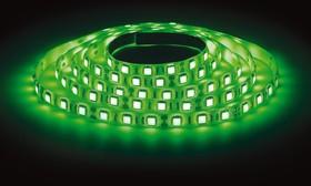 LS3528-60LED-IP65-G, Лента светодиодная (цвет зеленый), 4.8Вт/м, цена за катушку 5м