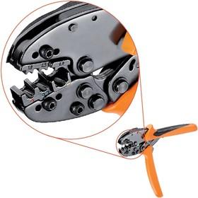 CTI 6, Кримпер для обжима изолированных кабельных наконечников 0.5-6 кв.мм