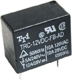 TRC-12VDC-SD-AD, Реле 1зам. 12VDC/ 10A, 120VAC