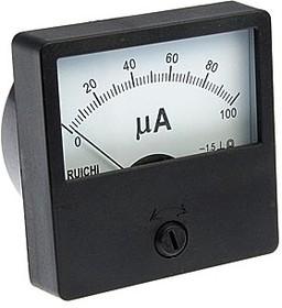 М42305 (97862), Головка измерительная аналоговая 100мкА, 60х60мм