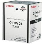 Тонер Canon C-EXV21 0452B002 черный туба 575гр. для принтера IRC2880/3380/3880