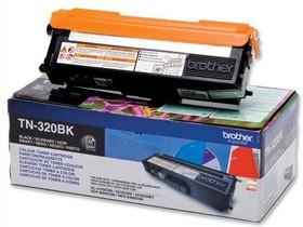 Фото 1/2 Картридж лазерный Brother TN320BK черный (2500стр.) для Brother HL4140/4150/4570/DCP9055/ 9270/MFC9460/9465/9970