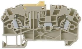 ZTRK 2,5/2A/MT beige, Клемма с размыкателем