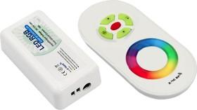 Фото 1/2 RF RGB 18A(LD10), Контроллер для светодиодной ленты RGB DC12-24V, IP40 с пультом