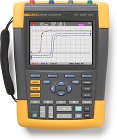 Fluke 190-504/S, Осциллограф, 4 канала х 500МГц с комплектом SCC-290, цветной дисплей (Госреестр)