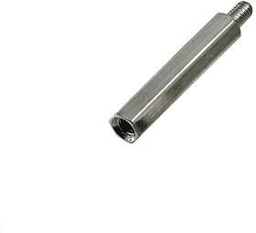 PCHSN-25 (Ni), Стойка для п/плат,шестигр., латунь, М3, 25мм, никелированные