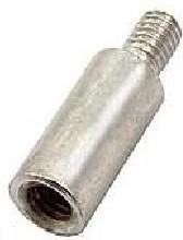 PCSN-10 (Ni), Стойка для п/плат, круглая, никель, М3, 10мм