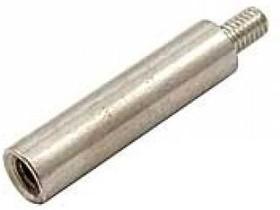Фото 1/2 PCSN-20 (Ni), Стойка для п/плат, круглая, никель, М3, 20мм