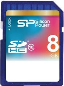 SP008GBSDH010V10, Карта памяти SDHC 8 ГБ, Class 10.
