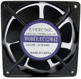 EC1238A2HBT-7, Вентилятор 220В, 120х120х38мм, жесткий вывод, подш. качения, 2500 об/мин.