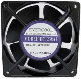 EC1238A2HSL-7, Вентилятор 220В, 120х120х38мм гибкий вывод, подш. скольжения, 2500 об/мин