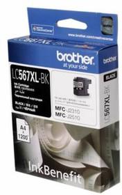 Картридж BROTHER LC567XLBK черный