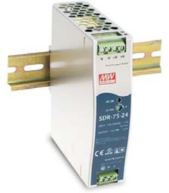 SDR-75-24, Блок питания, 24В,3.2А,76Вт