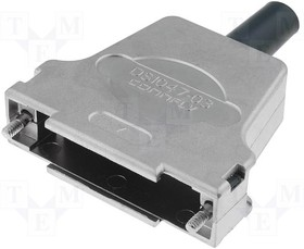 DS1047-03-25 M2BS, Корпус металлич. для разъемов D-Sub 25 конт./44 конт., с амортизатором