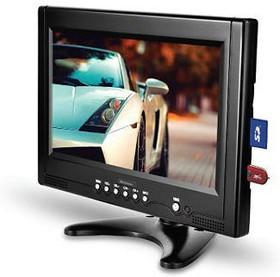 """Автомобильный портативный телевизор ROLSEN RCL-900U, 9"""", 16:9, черный [1-rlca-rcl-900u]"""