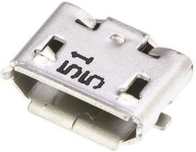 105017-0001, Разъем micro-USB на плату с поддержкой OTG