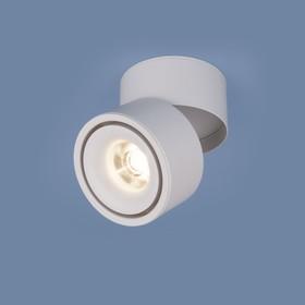 Фото 1/3 DLR031 15W 4200K / Светильник светодиодный стационарный 3100 белый матовый