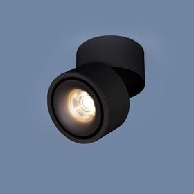 Фото 1/3 DLR031 15W 4200K / Светильник светодиодный стационарный 3100 черный матовый