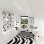 Фото 2/7 LTB28 / Светильник потолочный светодиодный Oskar Белый 10W 4200K