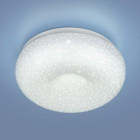Фото 1/3 9910 LED / Светильник встраиваемый 8W WH белый